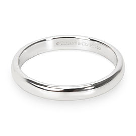 Tiffany & Co. Classic Wedding Band in Platinum