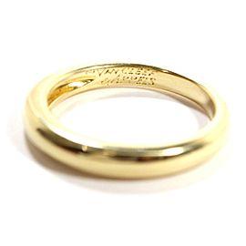 Van Cleef Arpels 18K YG Ring Size 7.5