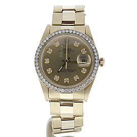 Rolex Date 1503 34mm Mens Watch