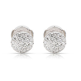 Tiffany & Co. 18K White Gold Diamond Earrings