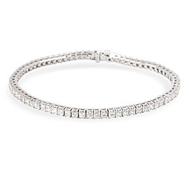 Blue Nile 18K White Gold Diamond Bracelet