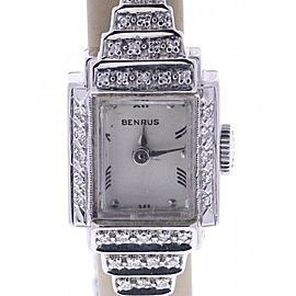 Benrus Vintage 16mm Womens Watch