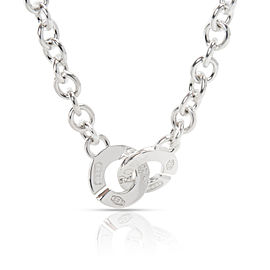 Tiffany & Co. Classic 1837 Interlocking Necklace in Sterling Silver