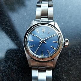 Rolex Oyster Perpetual 6723 Vintage 25mm Womens Watch