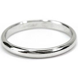 Cartier Wedding Ring Platinum Size 6.25