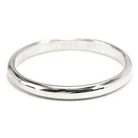 Cartier Wedding Ring Platinum Size 8.75