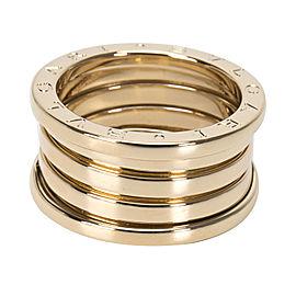 Bulgari 18K Yellow Gold Ring Size 5.5