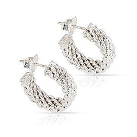 Tiffany & Co. Somerset Hoop Earring in Sterling Silver