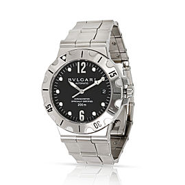 Bulgari Scuba SD38S 38mm Mens Watch