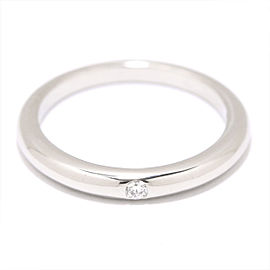 Bulgari Platinum Diamond Ring Size 3.25