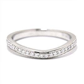 Cartier Platinum Diamond Ring Size 3.75