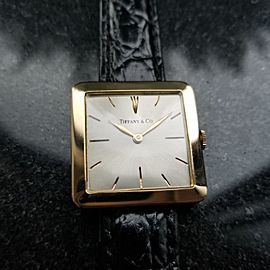 Tiffany & Co. Vintage 31mm Unisex Watch