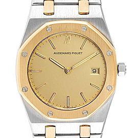 Audemars Piguet Royal Oak 33mm Steel Yellow Gold Quartz Mens Watch