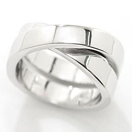 Cartier 18K WG Paris Ring Size 4.5