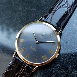 Rolex Cellini 4112 Vintage 32mm Mens Watch