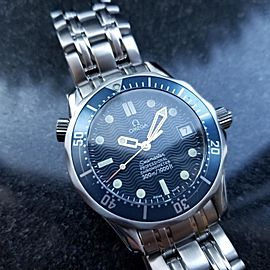 Omega Seamaster Professional James Bond 36mm Mens Watch