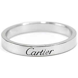 Cartier Platinum Ring Size 8.75