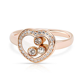 Chopard 18K Rose Gold Diamond Ring