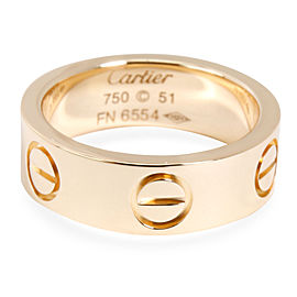 Cartier 18K Yellow Gold Ring Size 5.5