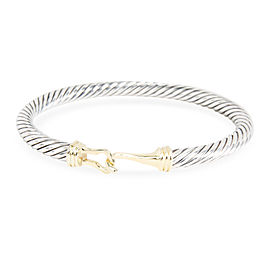 David Yurman 14K Yellow Gold, Sterling Silver Bracelet