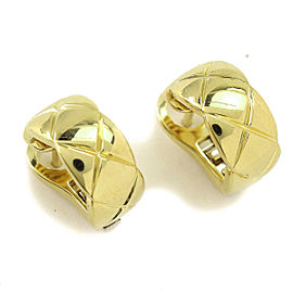Chanel 18K COCO CRUSH Earrings