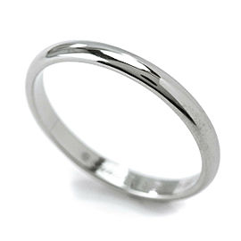 Cartier Platinum Ring Size 7.5