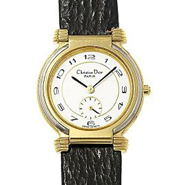 Christian Dior Dress 54 15 01 Vintage 29mm Womens watch