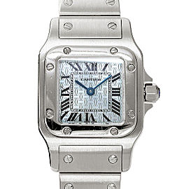 Cartier Santos Galbee W20060D6 35mm Womens Watch