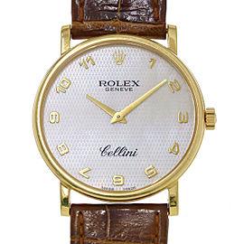 Rolex Cellini 5115/8 Vintage 38mm Mens Watch