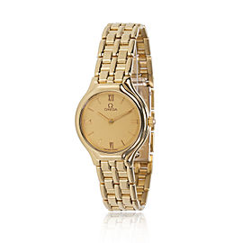Omega Deville 4160.13 Women's Watch in 18K Yellow Gold