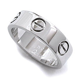 Cartier 18WG Love Ring Size 5.25