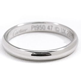Cartier Platinum Ring Size 4