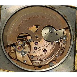 Vintage OMEGA Deville Square cal,711 Automatic Leather belt Men's Watch_459390