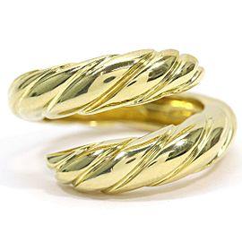 CHAUMET 18K YG Tango Ring Size5.25