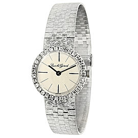 Bueche Girod WG6704 Diamond Women's Watch 18K White Gold