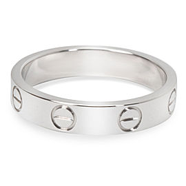 Cartier Love Ring in 18K White Gold