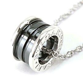 BVLGARI Save The Children Black ceramic Necklace