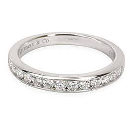 Tiffany & Co. Channel Set Diamond Wedding Band in Platinum 0.4 CTW