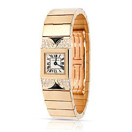Cartier Lingot 12051 Women's Watch in 18K Yellow Gold
