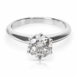 Tiffany & Co. Diamond Solitaire Engagement Ring in Platinum (1.01ct H/VS2)