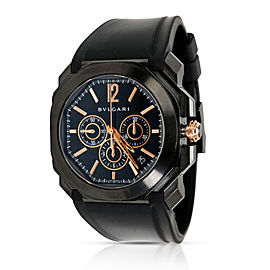 Bulgari Octo BGO 41 S CH Men's Watch in DLC