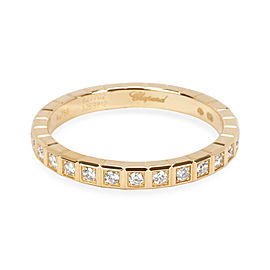 Chopard Ice Cube Diamond Eternity Ring in 18KT Yellow Gold 0.31 CTW
