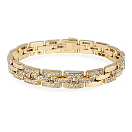 Cartier Maillon Panthere Diamond Bracelet in 18K Yellow Gold 3 CTW