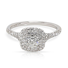 Tiffany & Co. Soleste Diamond Engagement Ring in Platinum G VS1 0.59 CT
