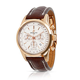 Breitling Transocean Chronograph RB015212/G738 Men's Watch 18kt Rose Gold