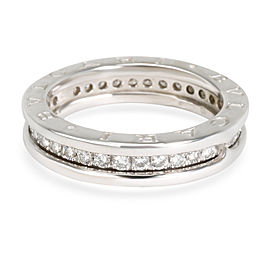Bulgari B Zero 1 Diamond Band in 18K White Gold 0.34 CTW