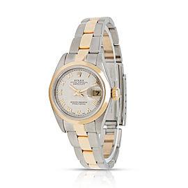Rolex Datejust 79163 Women's Watch in 18kt Stainless Steel/Yellow Gold