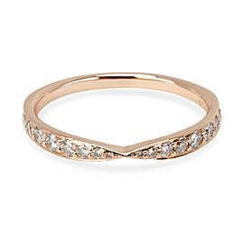 Tiffany & Co. Harmony Diamond Band in 18K Rose Gold (0.23 CTW)
