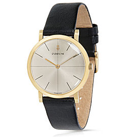 Vintage Corum Dress Unisex Watch in Yellow Gold
