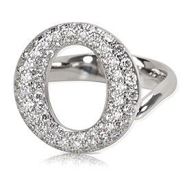 Tiffany & Co. Elsa Peretti Sevillana Diamond Ring in Platinum (0.80 CTW)